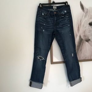 J. Crew Slim Broken in Boyfriend Jean